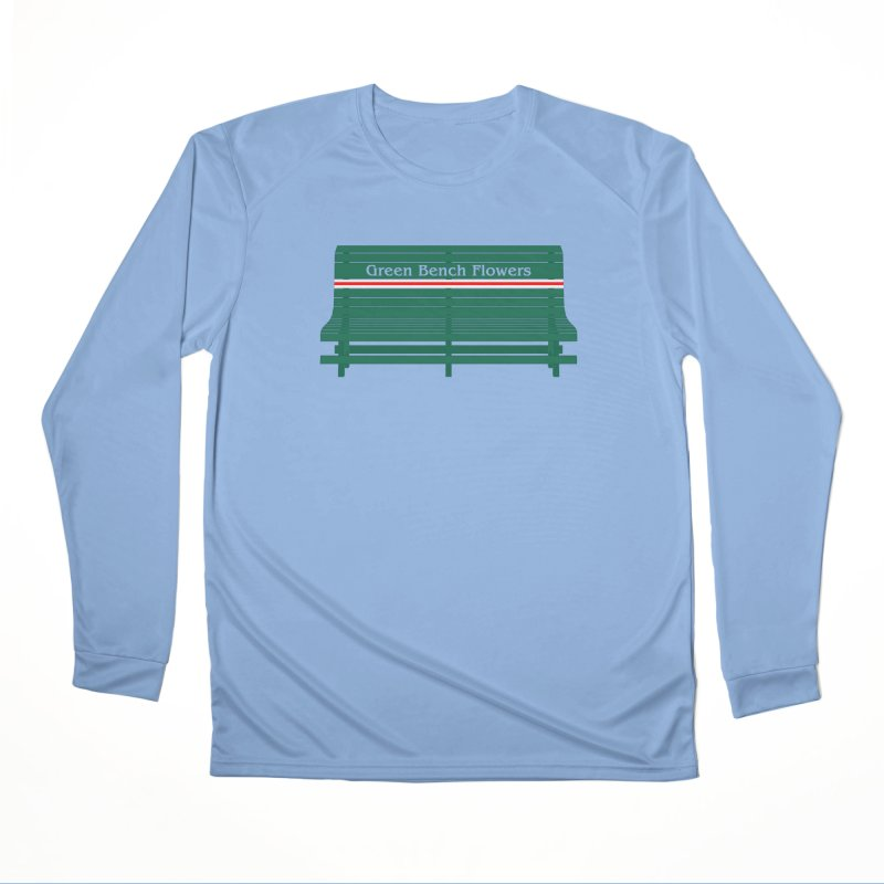 St Pete Green Bench - Nurses Men's Longsleeve T-Shirt by Virtue - There's more to it