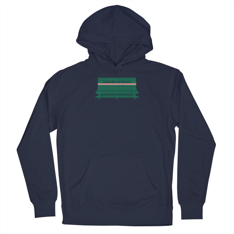 St Pete Green Bench - Nurses Men's Pullover Hoody by Virtue - There's more to it