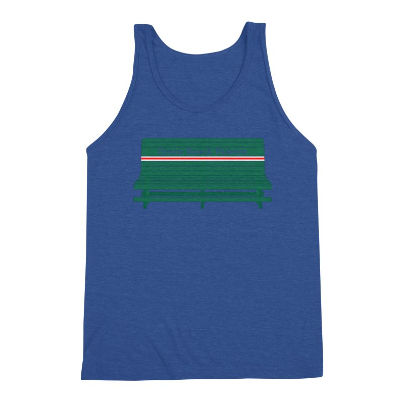 St Pete Green Bench - Nurses Men's Tank by Virtue - There's more to it