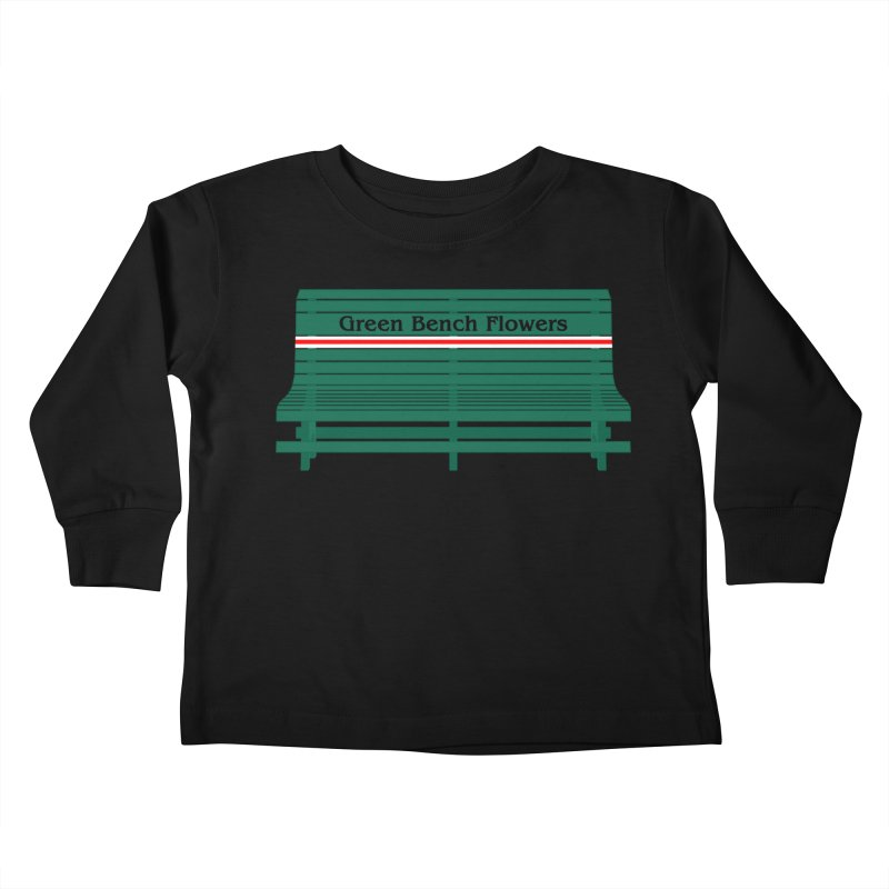 St Pete Green Bench - Nurses Kids Toddler Longsleeve T-Shirt by Virtue - There's more to it