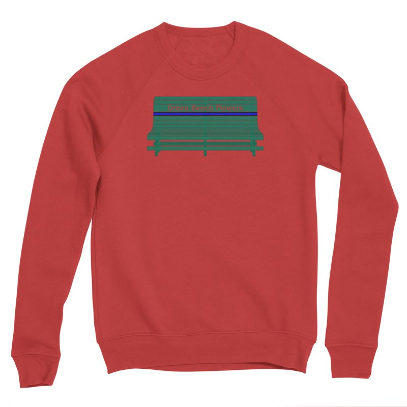 St Pete Green Bench - Thin Blue Line Women's Sweatshirt by Virtue - There's more to it