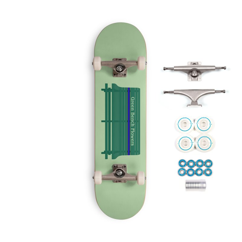St Pete Green Bench - Thin Blue Line Accessories Skateboard by Virtue - There's more to it
