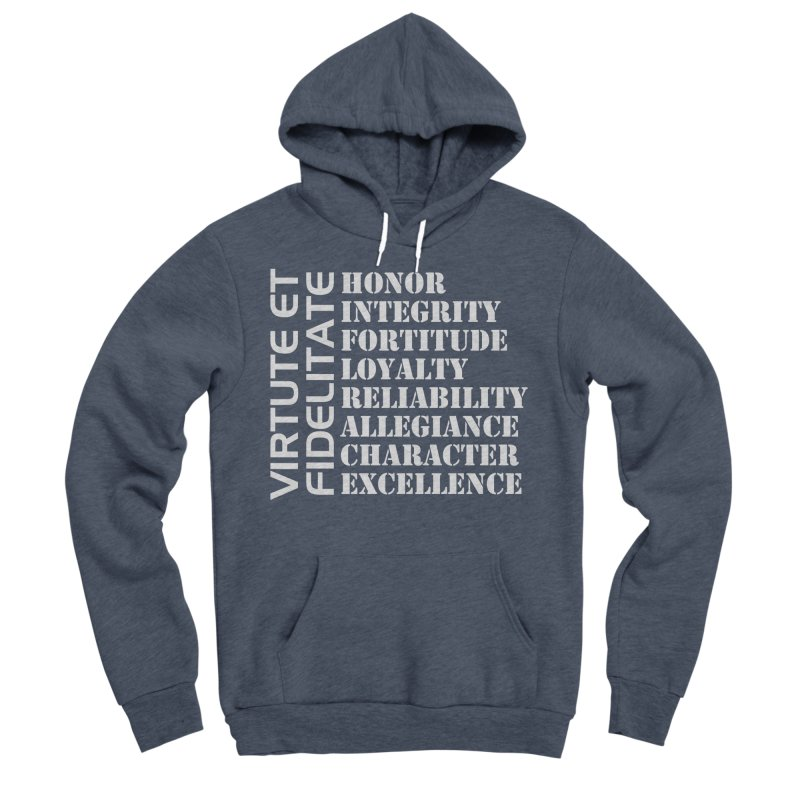 Define Yourself Men's Sponge Fleece Pullover Hoody by Virtue - There's more to it