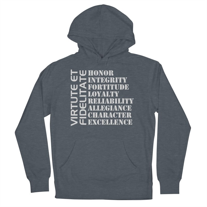 Define Yourself Women's French Terry Pullover Hoody by Virtue - There's more to it