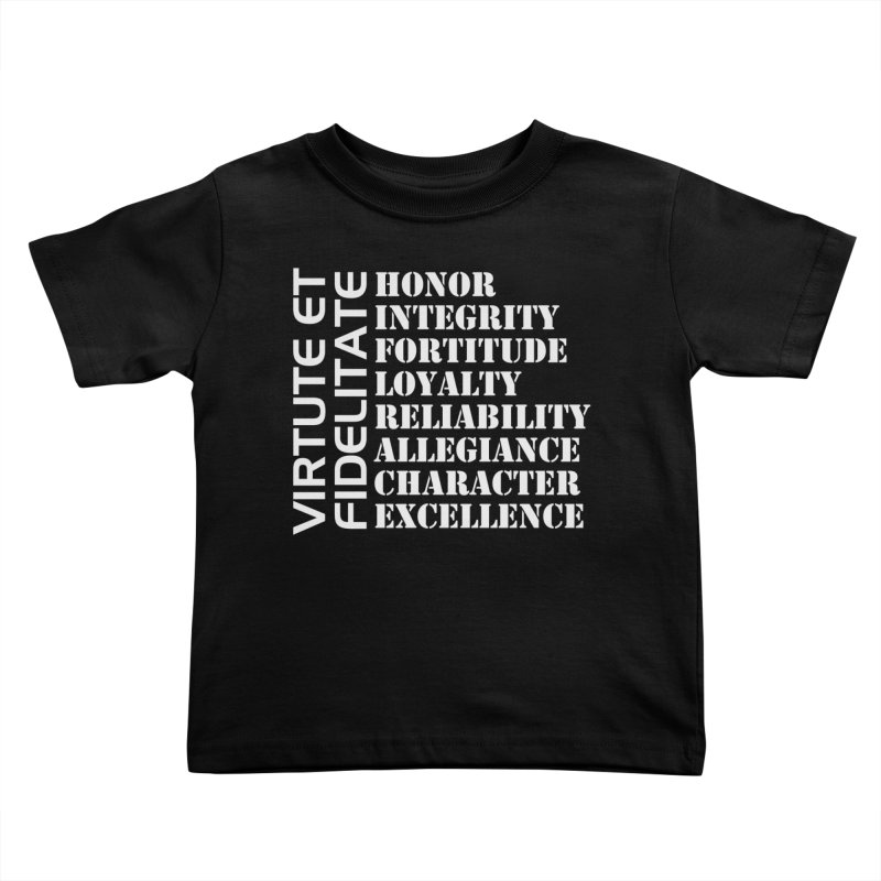Define Yourself Kids Toddler T-Shirt by Virtue - There's more to it
