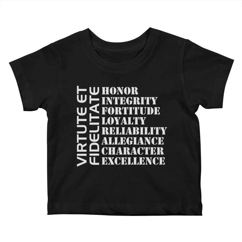 Define Yourself Kids Baby T-Shirt by Virtue - There's more to it