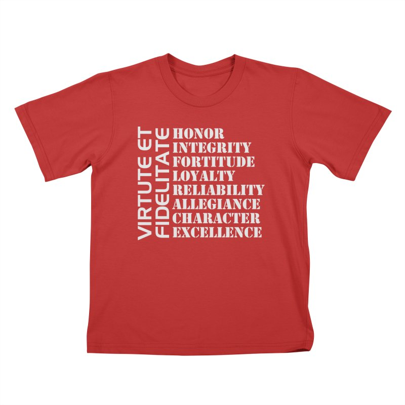 Define Yourself Kids T-Shirt by Virtue - There's more to it