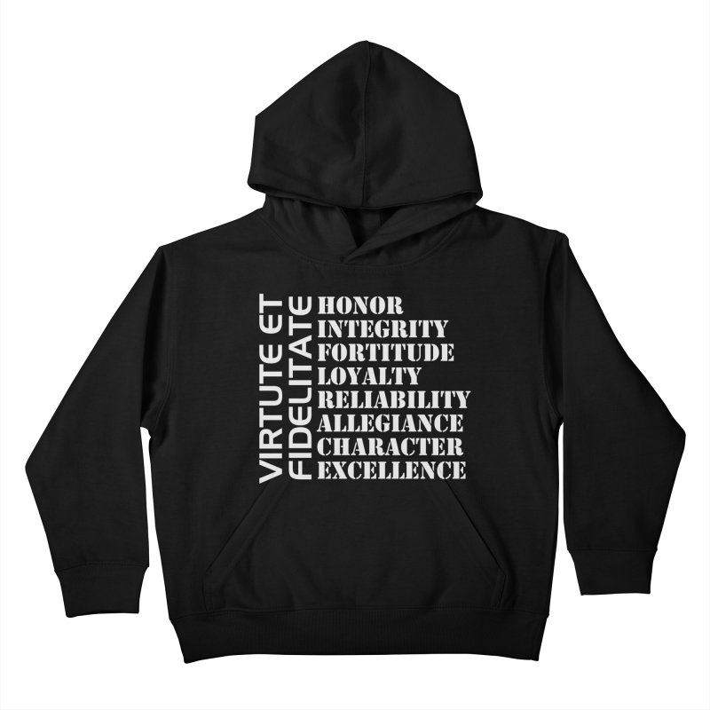 Define Yourself Kids Pullover Hoody by Virtue - There's more to it