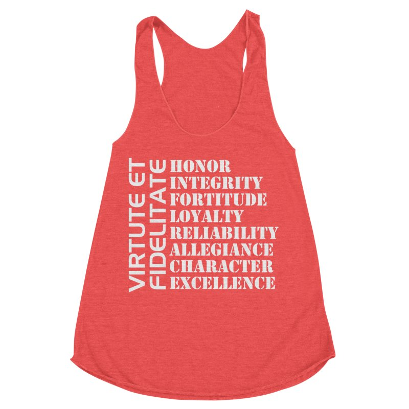 Define Yourself Women's Racerback Triblend Tank by Virtue - There's more to it