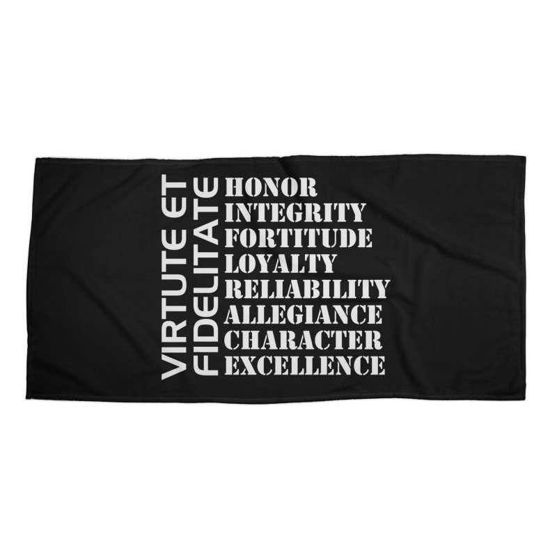 Define Yourself Accessories Beach Towel by Virtue - There's more to it