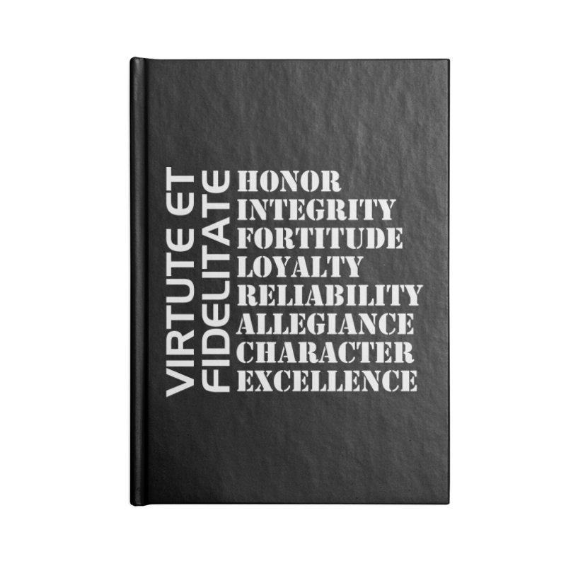 Define Yourself Accessories Blank Journal Notebook by Virtue - There's more to it