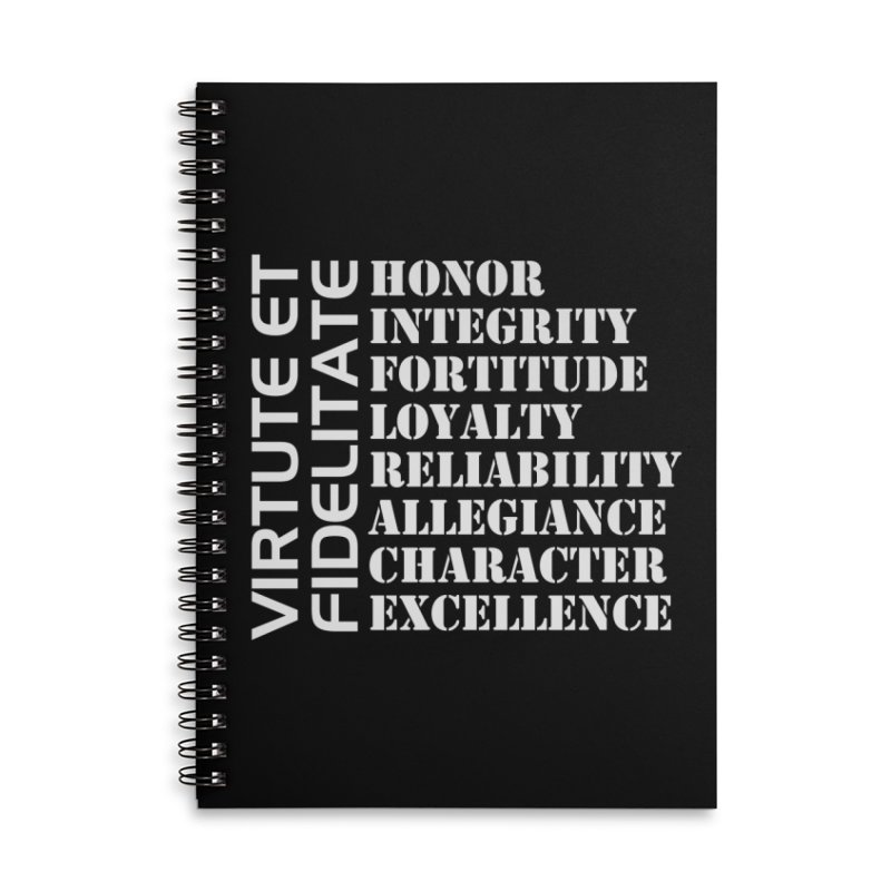 Define Yourself Accessories Lined Spiral Notebook by Virtue - There's more to it