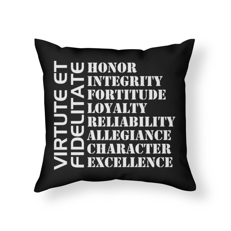 Define Yourself Home Throw Pillow by Virtue - There's more to it
