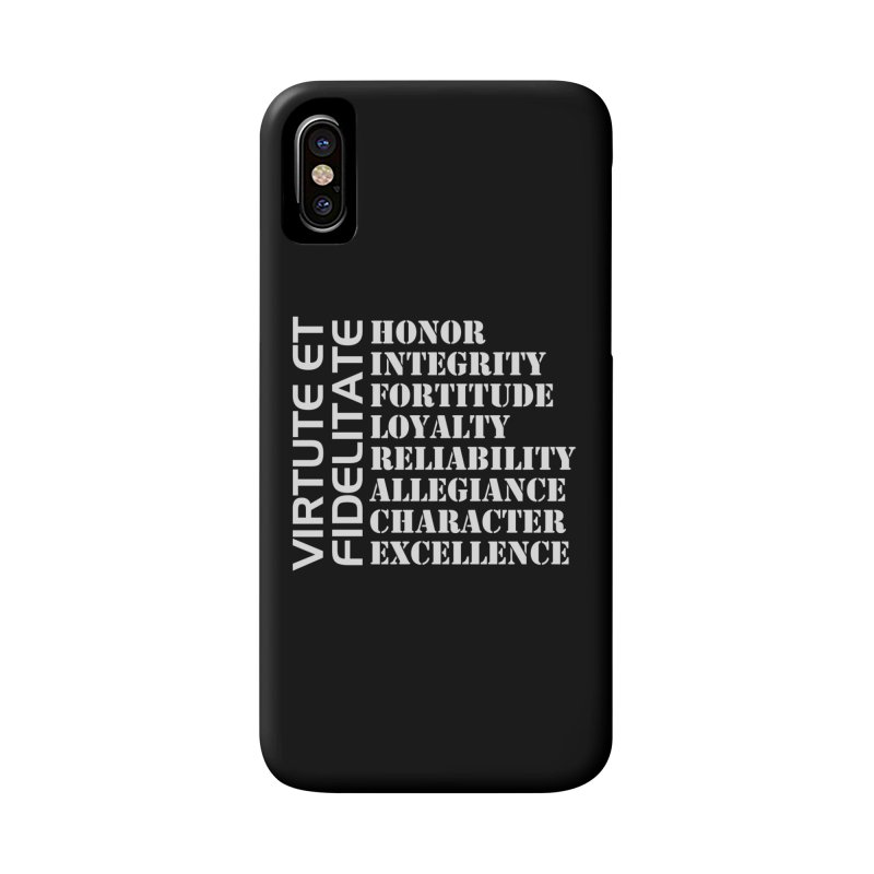 Define Yourself Accessories Phone Case by Virtue - There's more to it