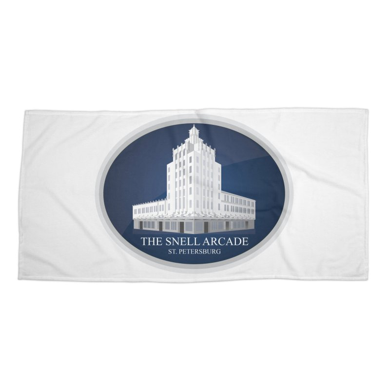The Snell Arcade - St. Petersburg, FL Accessories Beach Towel by Virtue - There's more to it