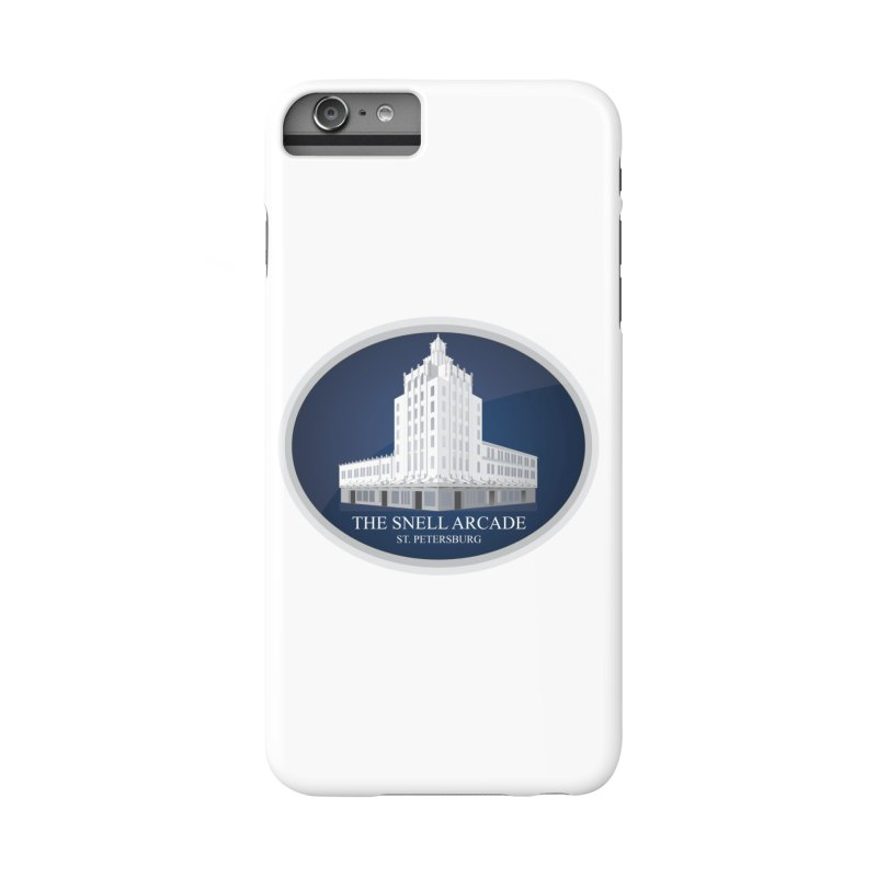 The Snell Arcade - St. Petersburg, FL Accessories Phone Case by Virtue - There's more to it
