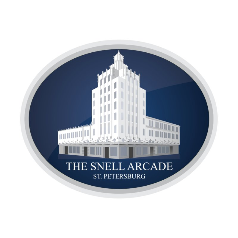 The Snell Arcade - St. Petersburg, FL Accessories Sticker by Virtue - There's more to it