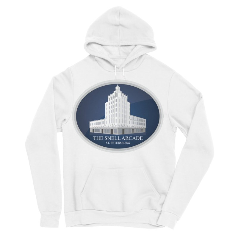 The Snell Arcade - St. Petersburg, FL Women's Sponge Fleece Pullover Hoody by Virtue - There's more to it