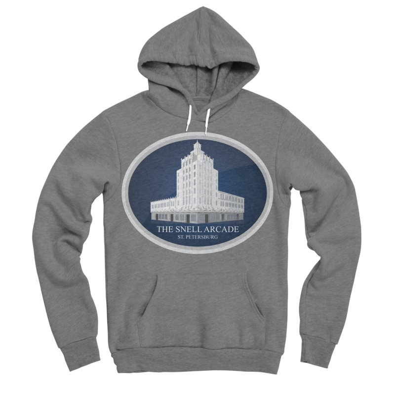 The Snell Arcade - St. Petersburg, FL Men's Sponge Fleece Pullover Hoody by Virtue - There's more to it