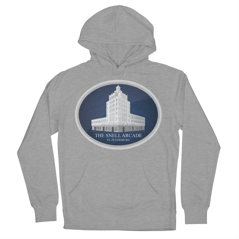 The Snell Arcade - St. Petersburg, FL Men's Pullover Hoody by Virtue - There's more to it