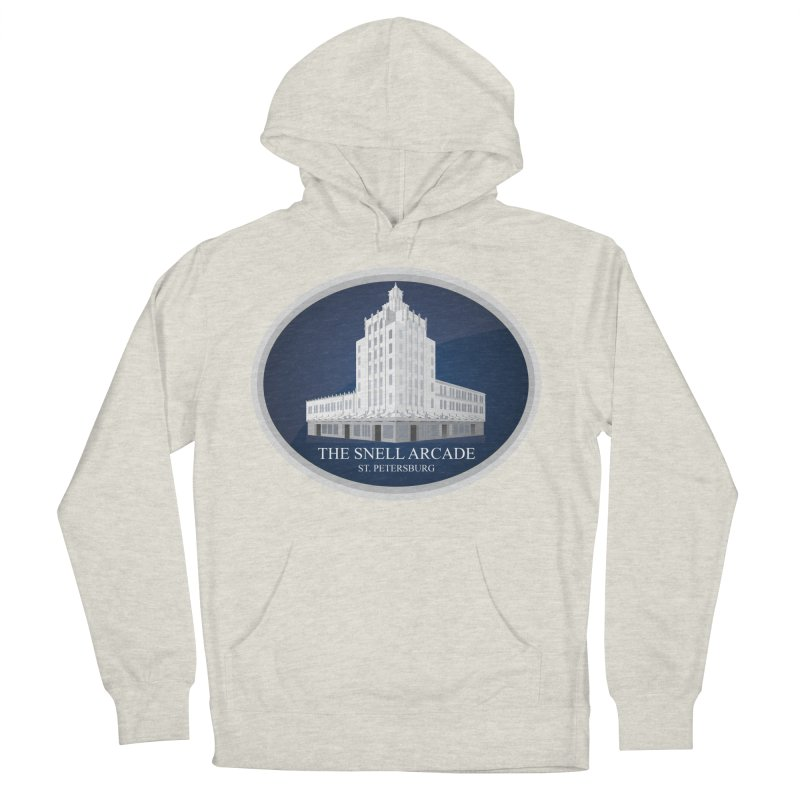 The Snell Arcade - St. Petersburg, FL Women's French Terry Pullover Hoody by Virtue - There's more to it