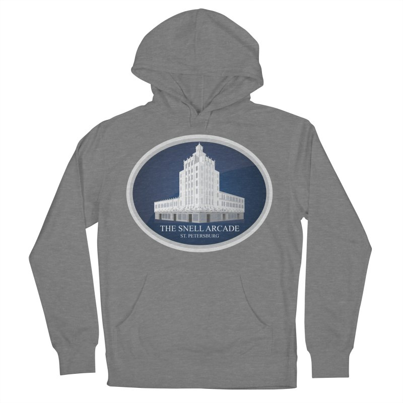 The Snell Arcade - St. Petersburg, FL Men's French Terry Pullover Hoody by Virtue - There's more to it