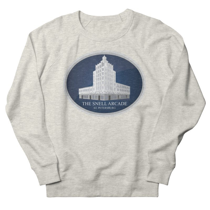 The Snell Arcade - St. Petersburg, FL Women's French Terry Sweatshirt by Virtue - There's more to it