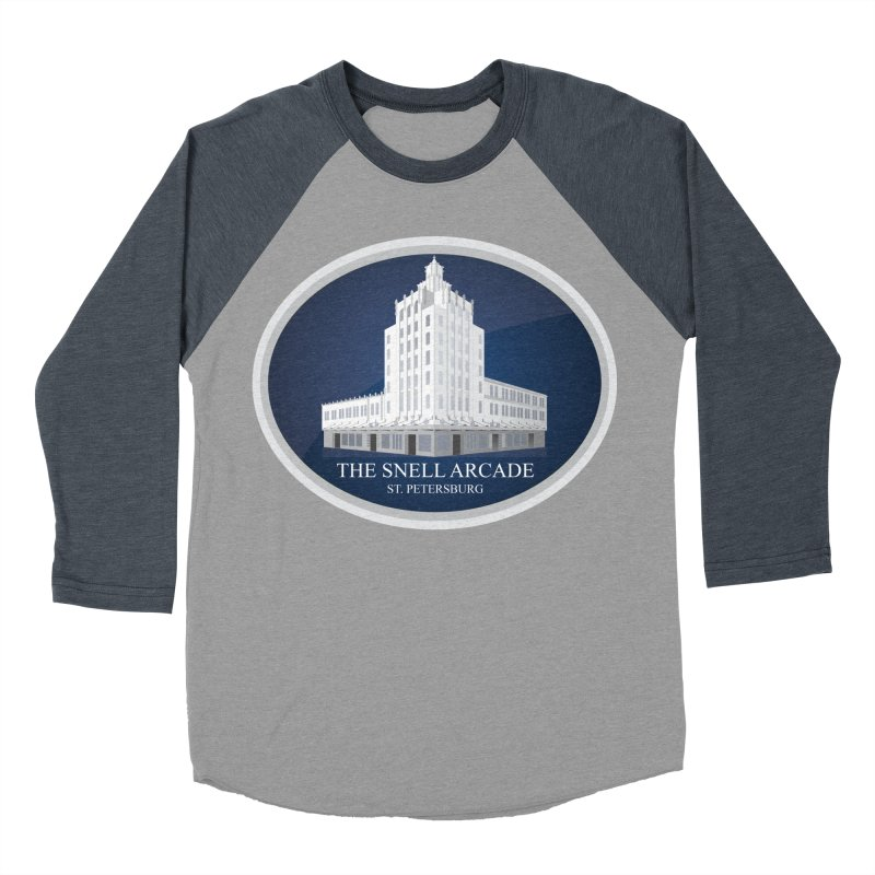 The Snell Arcade - St. Petersburg, FL Men's Baseball Triblend Longsleeve T-Shirt by Virtue - There's more to it