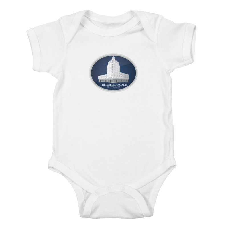 The Snell Arcade - St. Petersburg, FL Kids Baby Bodysuit by Virtue - There's more to it