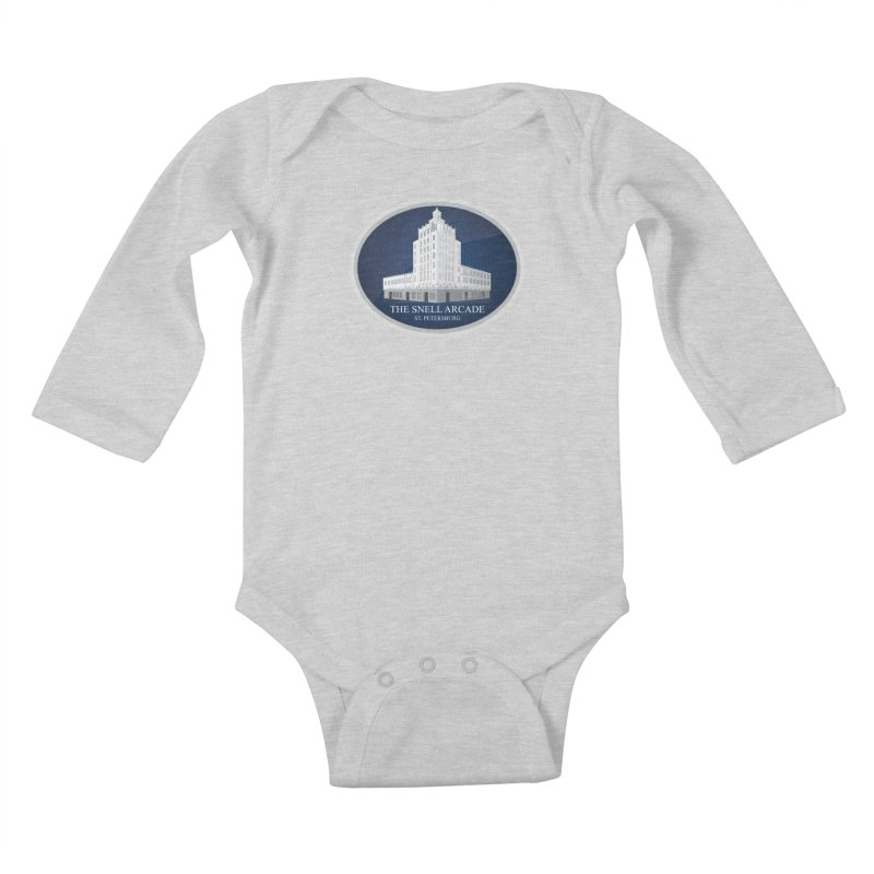 The Snell Arcade - St. Petersburg, FL Kids Baby Longsleeve Bodysuit by Virtue - There's more to it