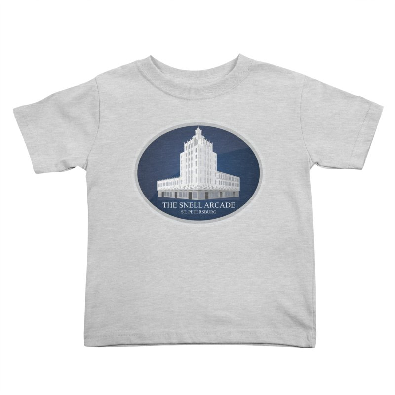 The Snell Arcade - St. Petersburg, FL Kids Toddler T-Shirt by Virtue - There's more to it