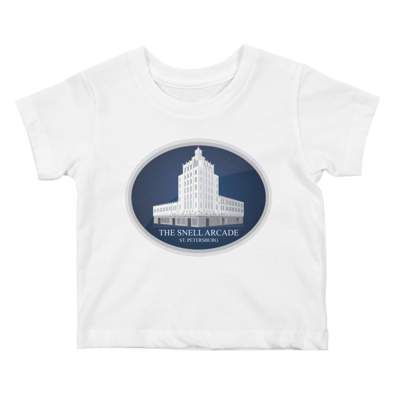 The Snell Arcade - St. Petersburg, FL Kids Baby T-Shirt by Virtue - There's more to it