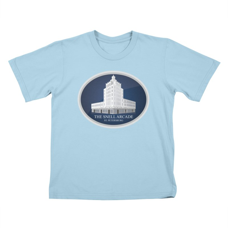 The Snell Arcade - St. Petersburg, FL Kids T-Shirt by Virtue - There's more to it