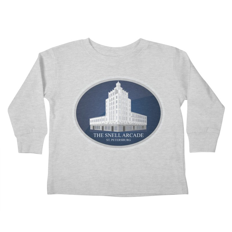 The Snell Arcade - St. Petersburg, FL Kids Toddler Longsleeve T-Shirt by Virtue - There's more to it