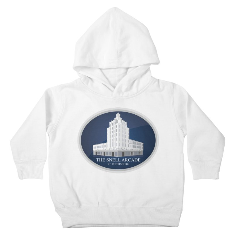 The Snell Arcade - St. Petersburg, FL Kids Toddler Pullover Hoody by Virtue - There's more to it