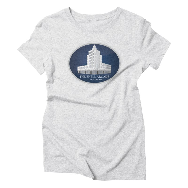 The Snell Arcade - St. Petersburg, FL Women's Triblend T-Shirt by Virtue - There's more to it