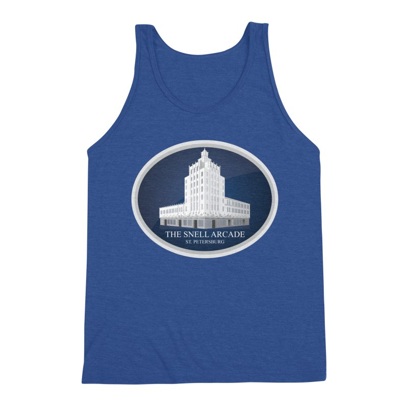 The Snell Arcade - St. Petersburg, FL Men's Tank by Virtue - There's more to it