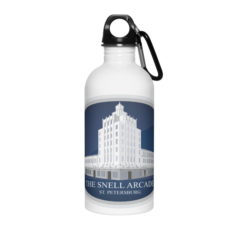 The Snell Arcade - St. Petersburg, FL Accessories Water Bottle by Virtue - There's more to it