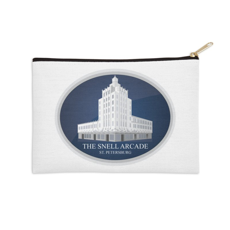 The Snell Arcade - St. Petersburg, FL Accessories Zip Pouch by Virtue - There's more to it