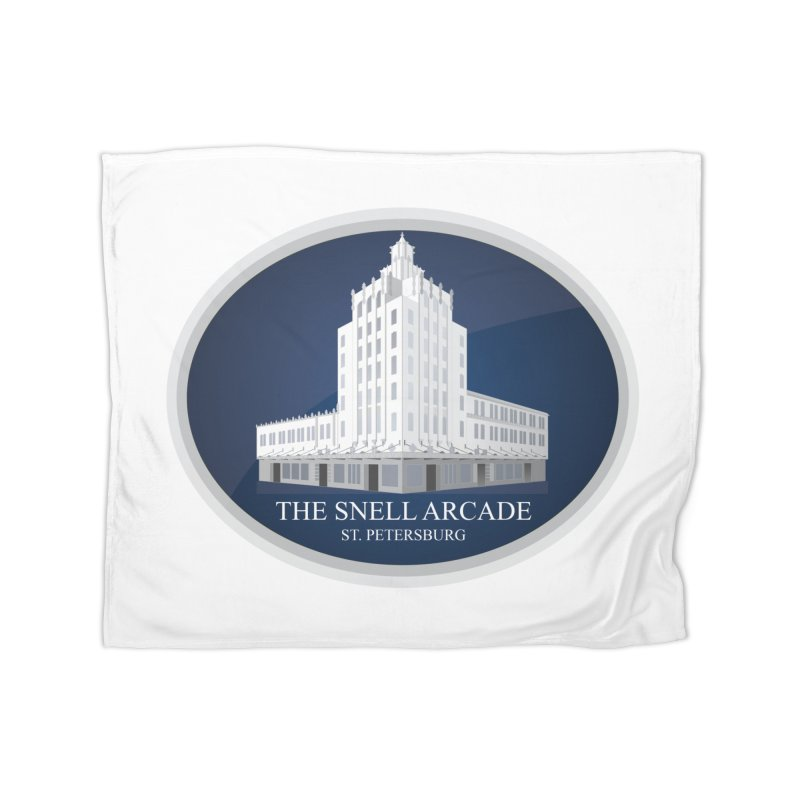 The Snell Arcade - St. Petersburg, FL Home Fleece Blanket Blanket by Virtue - There's more to it