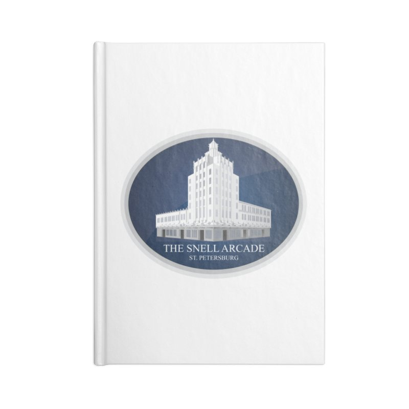 The Snell Arcade - St. Petersburg, FL Accessories Lined Journal Notebook by Virtue - There's more to it