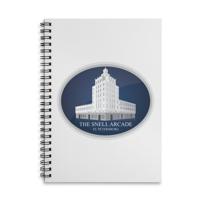 The Snell Arcade - St. Petersburg, FL Accessories Notebook by Virtue - There's more to it