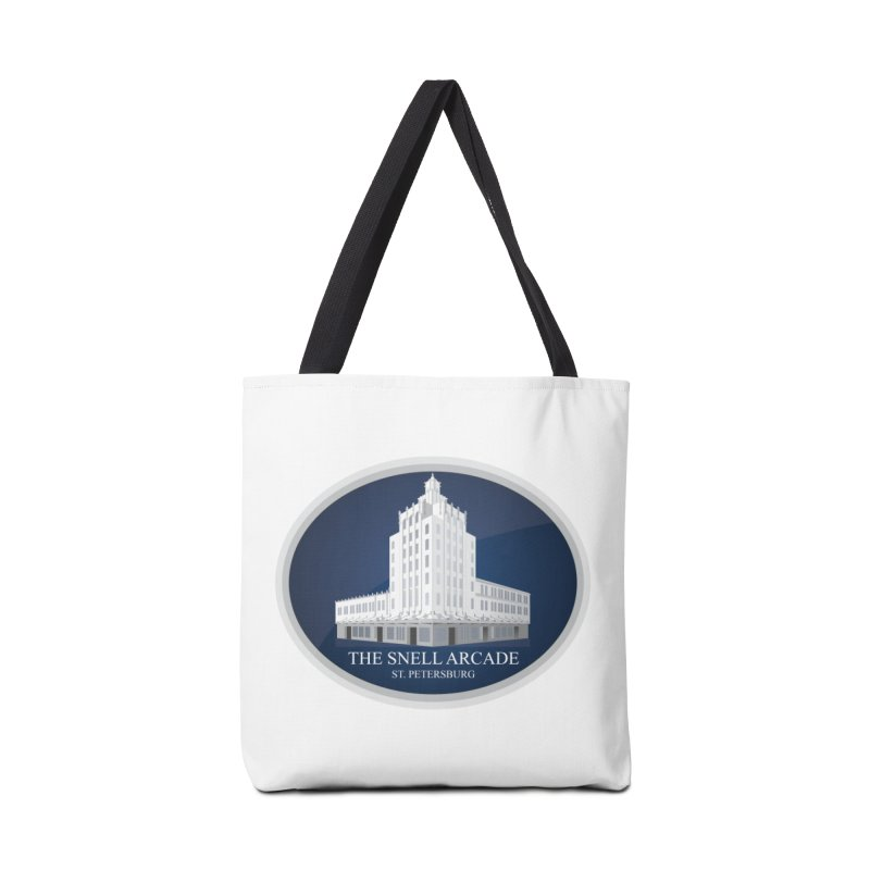 The Snell Arcade - St. Petersburg, FL Accessories Tote Bag Bag by Virtue - There's more to it