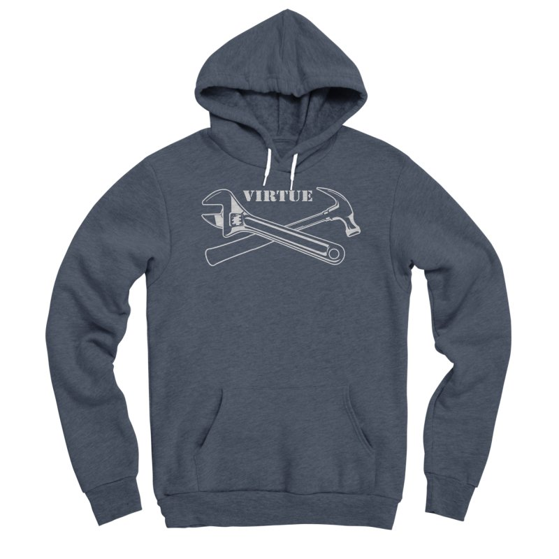 Construct - I Am Series Men's Sponge Fleece Pullover Hoody by Virtue - There's more to it