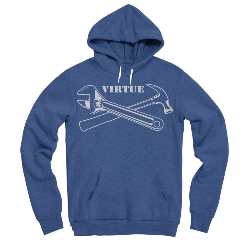 Construct - I Am Series Women's Sponge Fleece Pullover Hoody by Virtue - There's more to it
