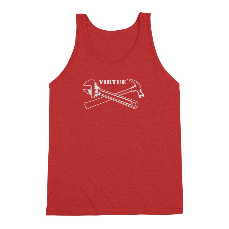 Construct - I Am Series Men's Triblend Tank by Virtue - There's more to it