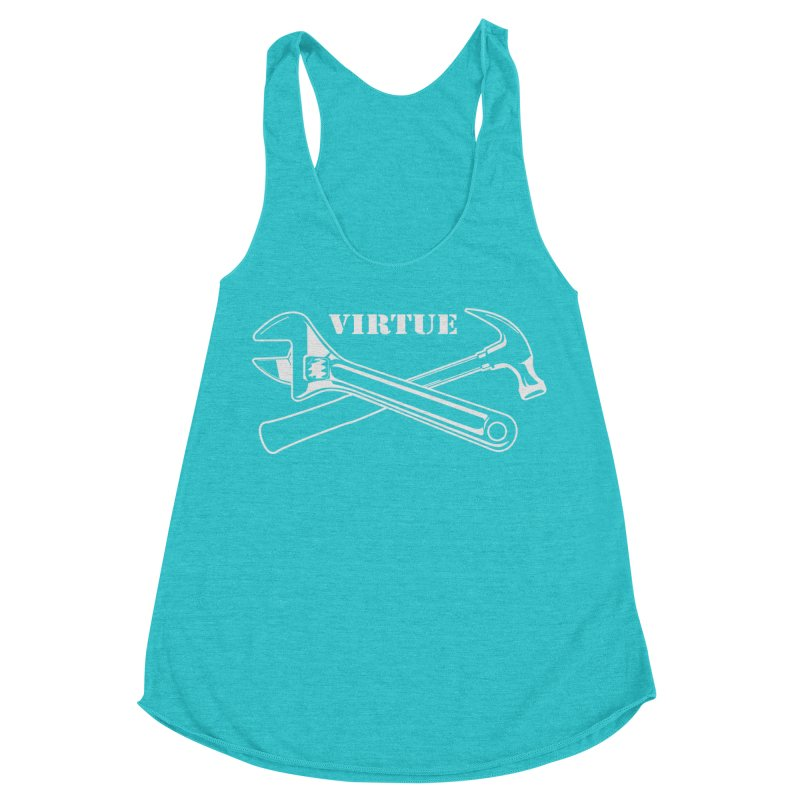 Construct - I Am Series Women's Racerback Triblend Tank by Virtue - There's more to it