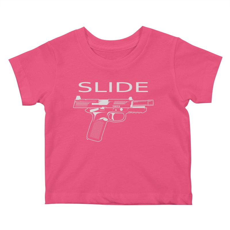 Slide Kids Baby T-Shirt by Virtue - There's more to it
