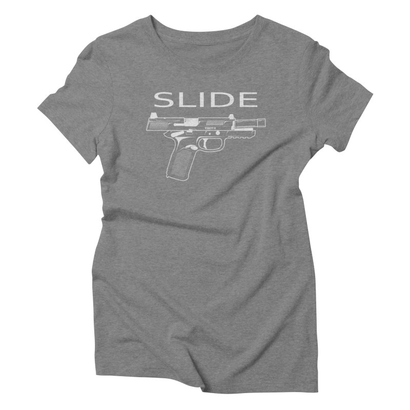 Slide Women's Triblend T-Shirt by Virtue - There's more to it