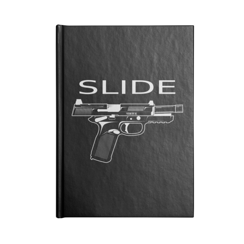 Slide Accessories Notebook by Virtue - There's more to it
